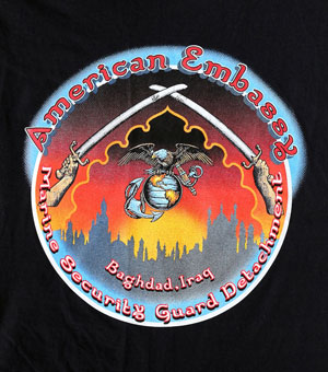Embassy Baghdad t-shirt design