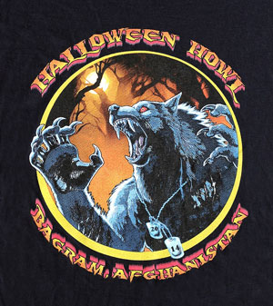 Halloween Howl t-shirt image