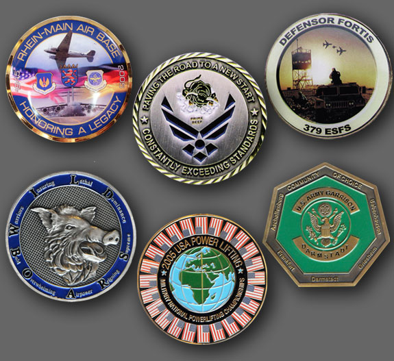 Custom Coins | Huber & Associates