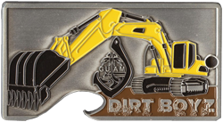Dirt Boyz Cut-out Coin by Huber & Associates