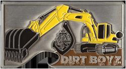 Dirt Boyz Cut-out Coin by Huber & Associates