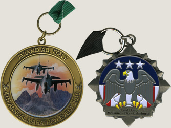 custom military keychains