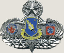 3D task force military coins