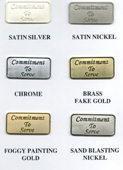 metal finish military coins