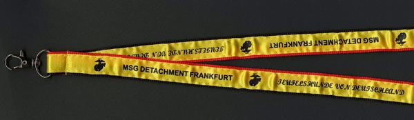 Frankfurt-lanyard